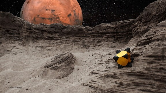 Incredibly Innovative Hedgehog Robot Designed for Exploring Comets and Astroids