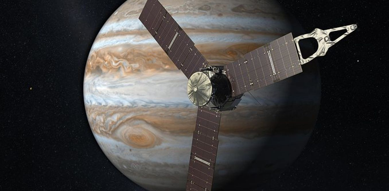 NASA's Juno arrives at Jupiter to lift its cloudy veil – but first it must survive the hostile environment