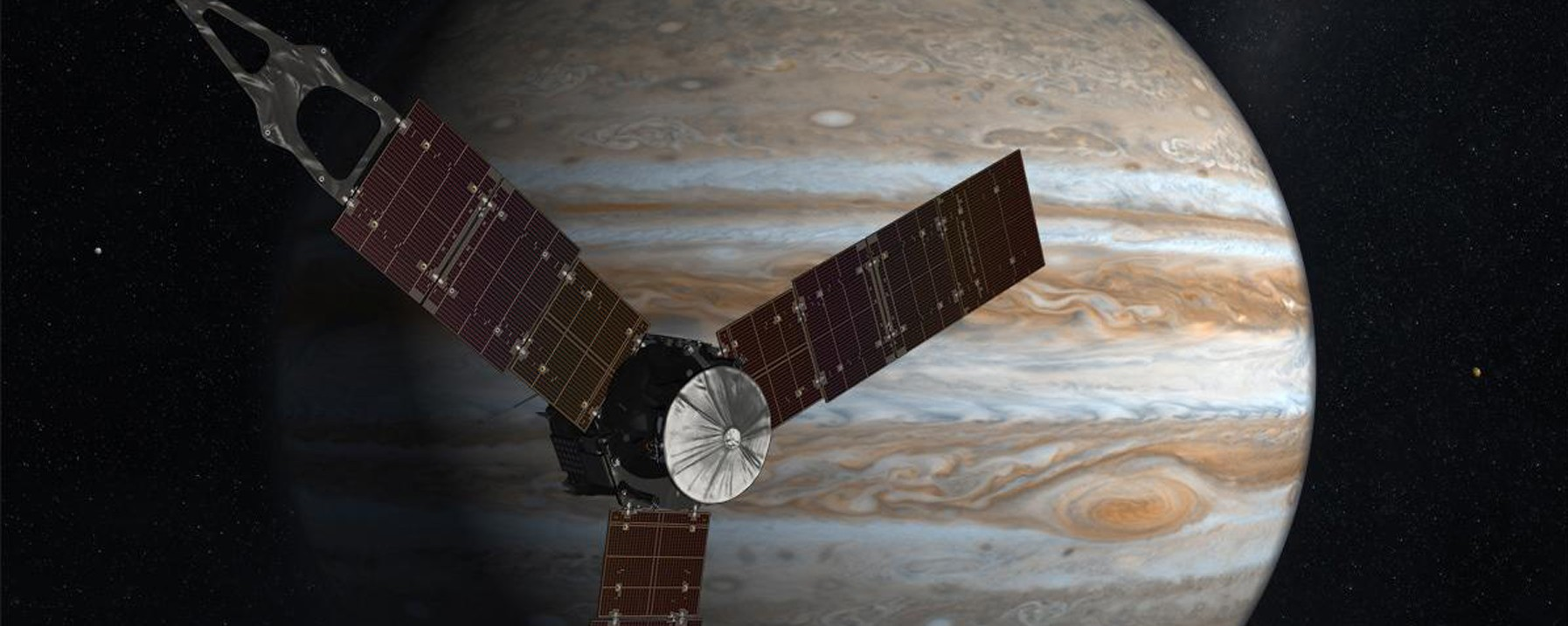 Juno Spacecraft Flawlessly Enters Orbit Around Jupiter