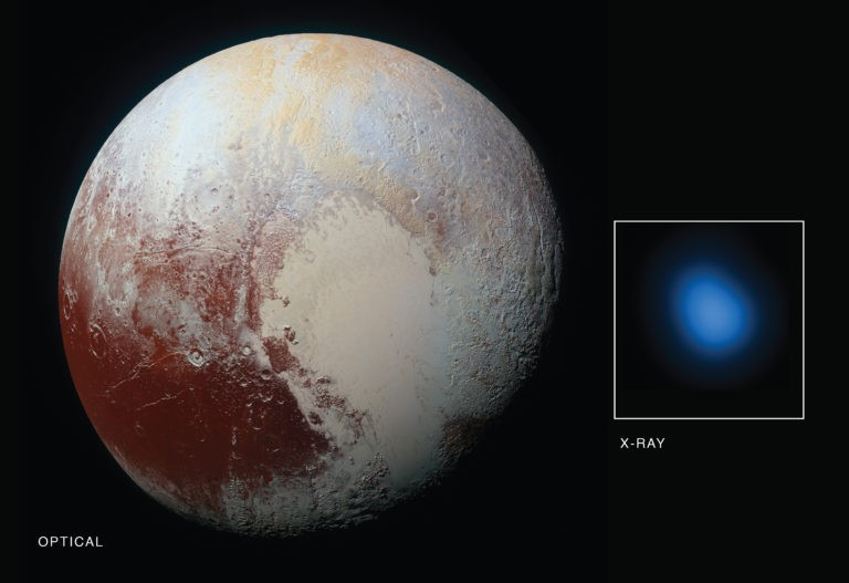 X-rays Being Emitted from Pluto are an Astronomical Mystery