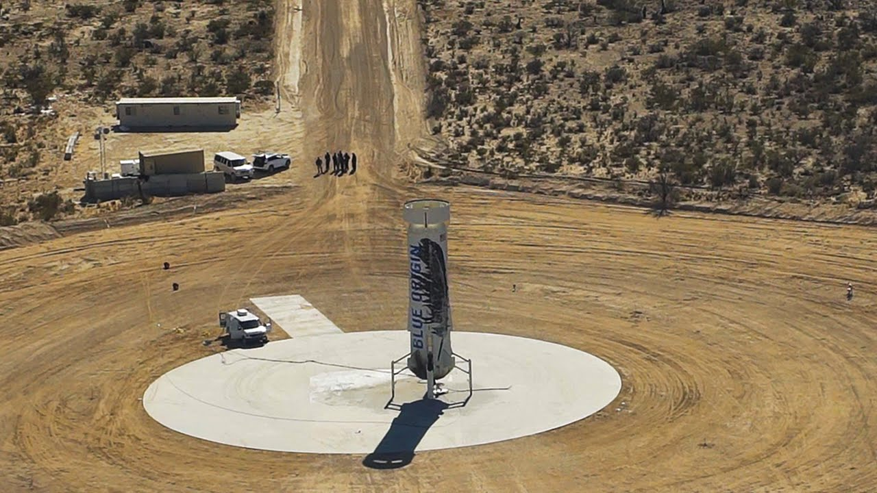 Blue Origin's New Shepard Booster Rides – and Lands – Again! [Video]