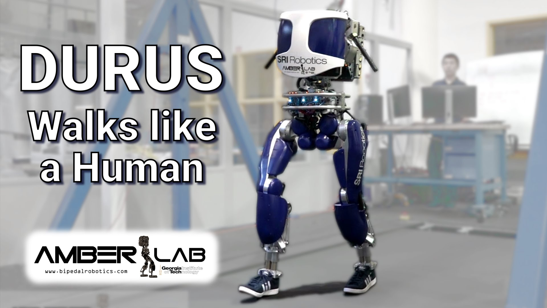 This Amazing Sneaker-Wearing Robot Walks Like a Human [Video]