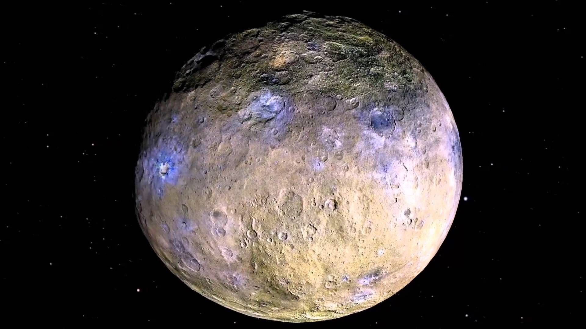 weird bright spots on ceres getting a closer look by dawn probe